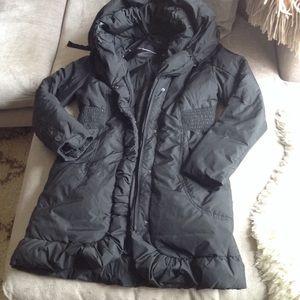 Winter Tahari Puffer Down jacket snow coat p S