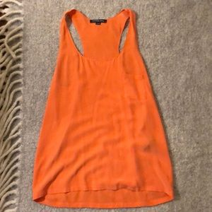 SALE! Alexander Wang 100% Silk Racer Back Tank.
