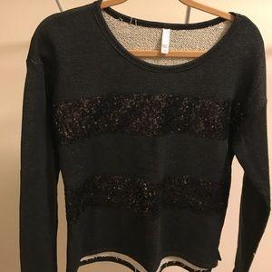 Sparkle Sweatshirt Size M