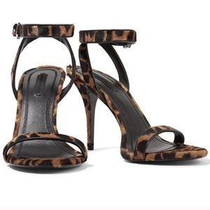 Alexander Wang Leopard Sandals 7.5