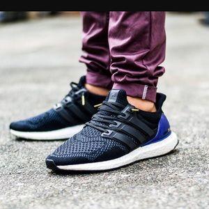 adidas Shoes - Adidas Ultra Boost 1.0 OG Black Purple Gold Kanye f35594ae6