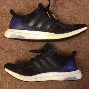 830536d7ad017 adidas Shoes - Adidas Ultra Boost 1.0 OG Black Purple Gold Kanye
