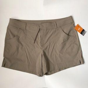 NWT Lucy Walkabout Shorts Tan/Khaki Size XL
