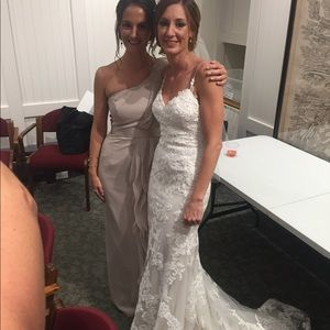 c25bd63a521d David's Bridal Dresses   Davids Bridal Vera Wang Bridesmaid Dress ...