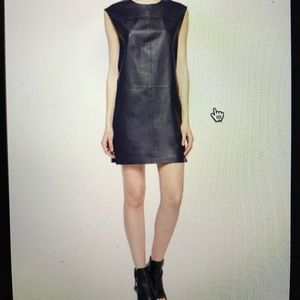 Vince Leather Dress