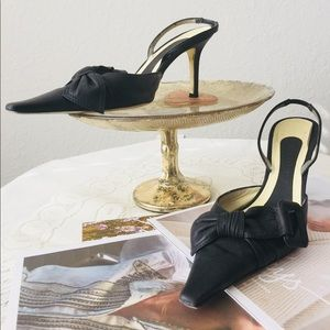 Givenchy Shoes Leather Slingback Heels Run small