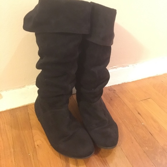c7864d69720 Slouchy faux suede boots. M 5a0635a13c6f9f88fd0510b0. Other Shoes you may  like. Women s Nine West ...