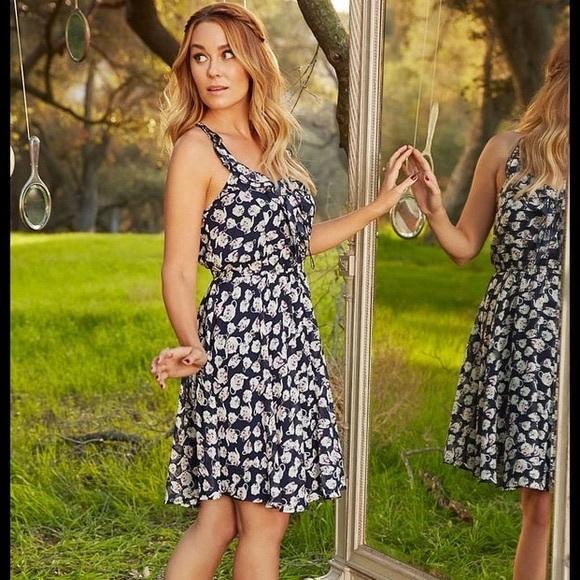 cddf3a2725 LC Lauren Conrad Kohls Alice in Wonderland dress L