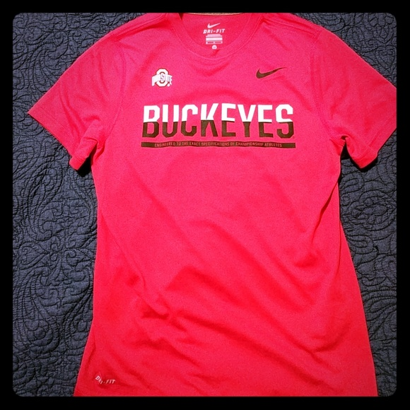 b7d30a46 Nike Shirts | Mens Ohio State Buckeyes Shirt | Poshmark
