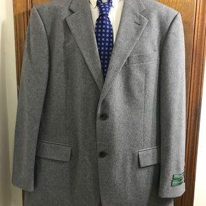 NWT Oscar De La Renta Men's Grey Cashmere Blazer