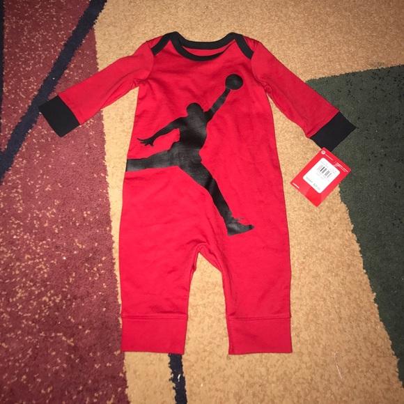 05dbc143f Jordan One Pieces | Baby Boys Nike Romper 36 Months Nwt | Poshmark