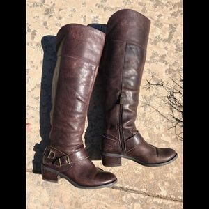 Vince Camuto Size 6.5 Extended Calf Boots