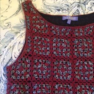 Vivienne Vivienne Tam crocheted dress size medium