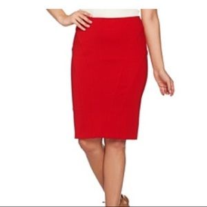 d3c05aa3652 Shape FX Pencil Skirt Spandex Women's Size 6