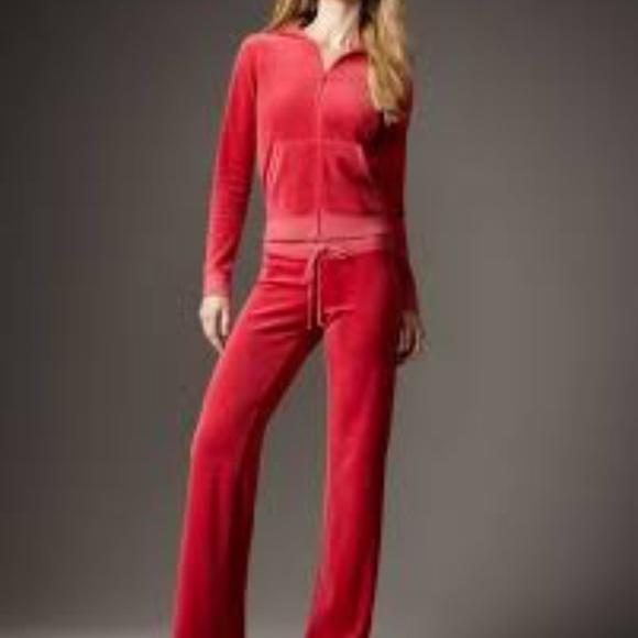 Juicy Couture Pants - XMAS SALE Authentic Juicy Couture Velour Tracksuit 3eb2a857e421