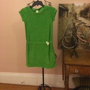EUC Crewcuts terry dress size 10