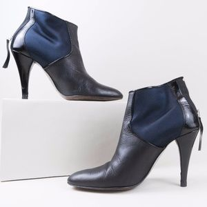 Kenneth Cole New York Black & Navy Blue Booties