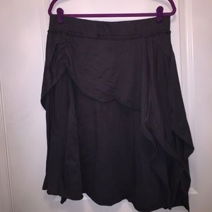Dresses & Skirts - Cotton Asymmetrical Skirt
