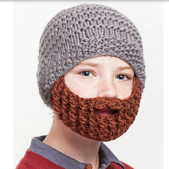 RESERVED Small hat and beard kids 1c7ef756337