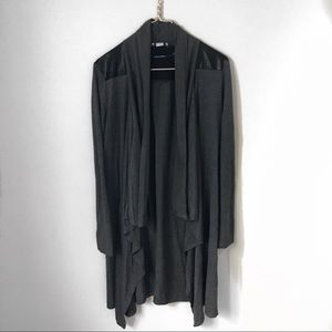 Cotton On long blazer cardigan.