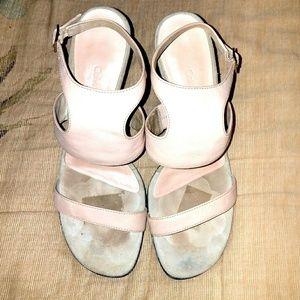 Calvin Klein Nude Sandals WILHELMINA