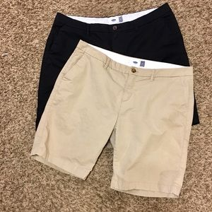 Old Navy Shorts Plus (Lot Of 2) Sz14