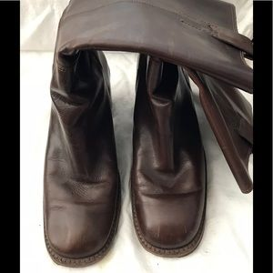 Banana Republic brown leather boots