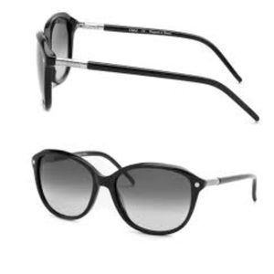 Black and silver Chloe sunglasses