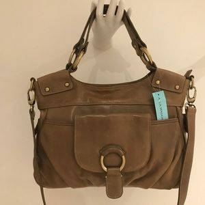 New Aqua Madonna soft leather bag.