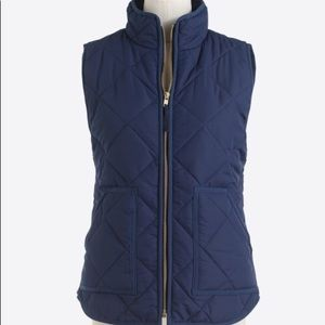 NWT J. Crew Factory Quilted Vest