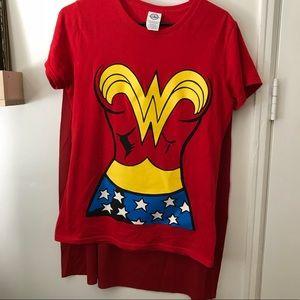 Tops - Wonder Woman set - headband & shirt with cape