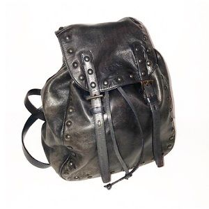 Authentic Prada Nappa Leather Studded Backpack