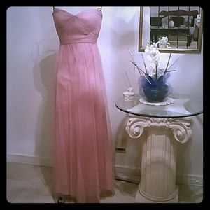 Jenny Yoo Dusty rose maxi dress