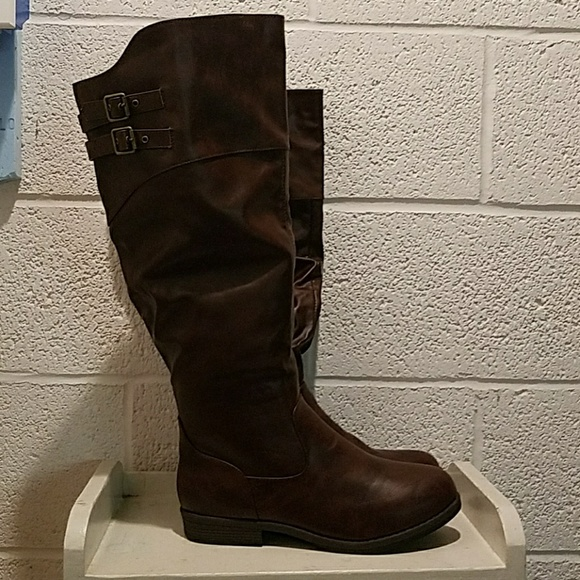 88f24029c54 Brand New Journee Collection Tori Knee High Boots