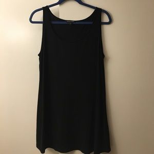 Eileen fisher, stretch silk tank/shell. large