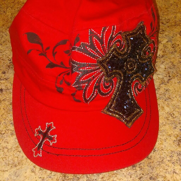kbethos Accessories - Kbethos hat with cross 6f8318931ad8