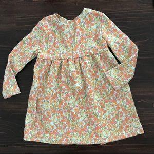 Peek floral dress