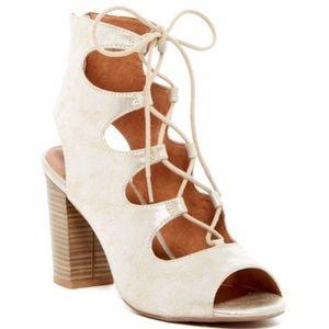 BC Footwear Vivacious Lace-Up Sandal