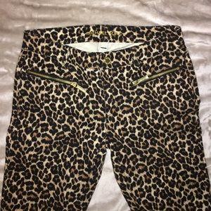 Michael Kors leopard print pants