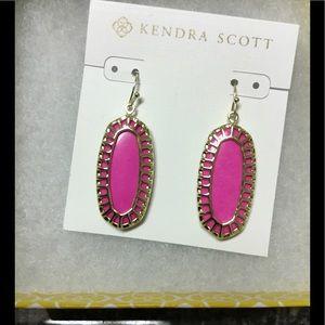 Kendra Scott Magenta Dayla Earrings