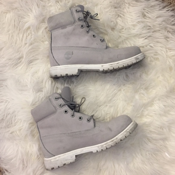 best site buy sale sale online ⚪️⚪️ LIGHT GREY WOMENS TIMBERLANDS⚪️⚪️