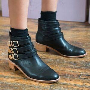 Loeffler Randall Black Fenton Ankle boots