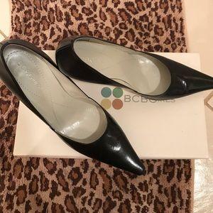 b8aa0c1762 BCBGirls Shoes - BCBGirls Katchen-K style black pumps.