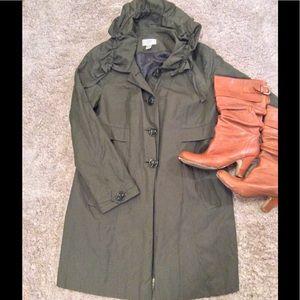 🚨SALE🚨LOFT Green Coat