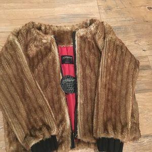 Stussy Women Fur Coat!!