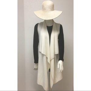 Nanette Lepore 100% Cashmere Sweater Vest Cardigan