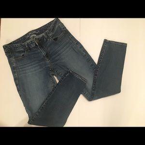 American Eagle Super Stretch Skinny Jeans Size 14