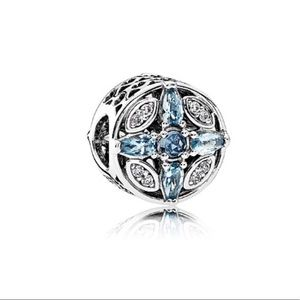 New Pandora Patterns Of Frost Charm