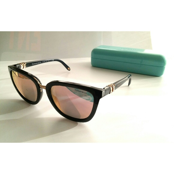 Tiffany & Co. Other | Auth Tiffany Co Tf4124 Sunglasses Frames Only ...