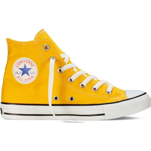 super promocje tania wyprzedaż usa oficjalne zdjęcia Converse Chuck Taylors LIKE NEW Yellow